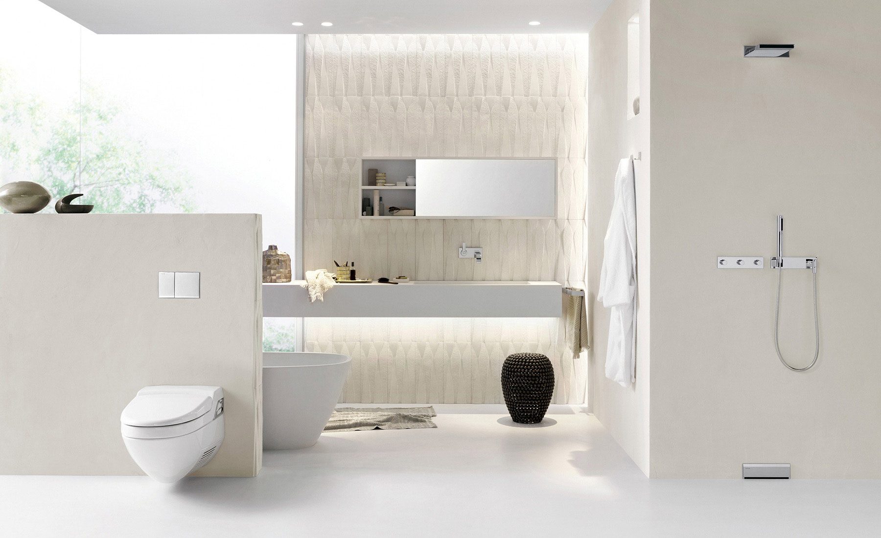 Bad gefliest raum und m beldesign inspiration for Badezimmer modern gefliest